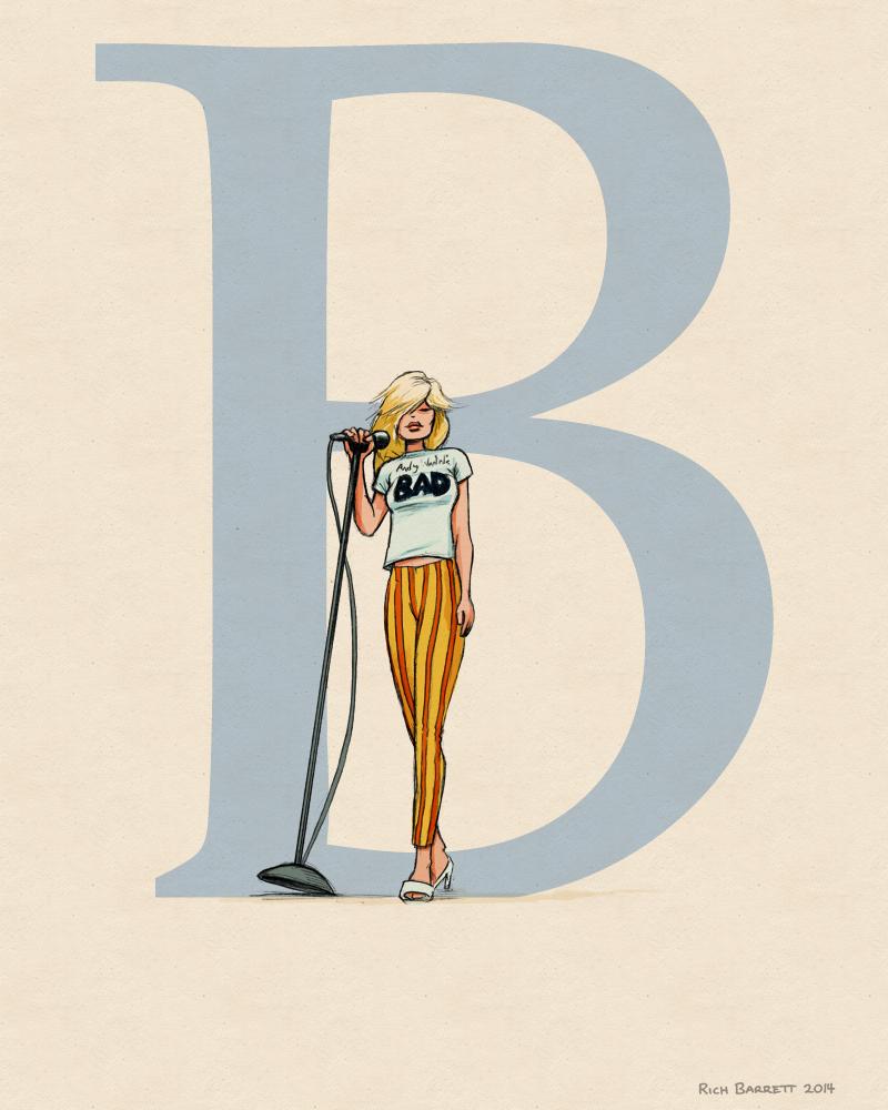 b-blondie