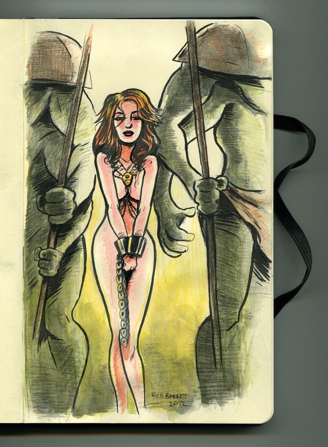 Dejah Thoris from The Princess of Mars