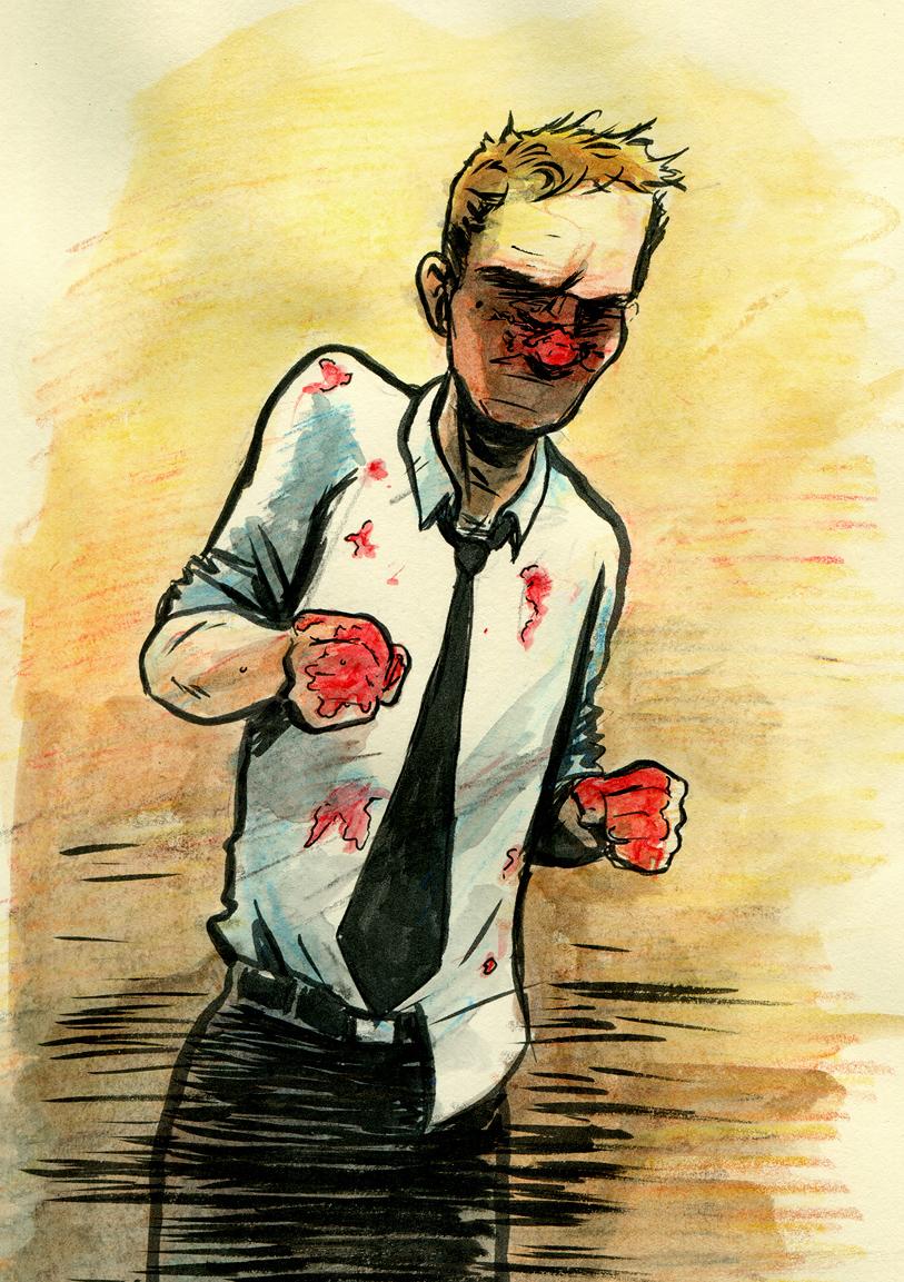 Tyler Durden from Fight Club
